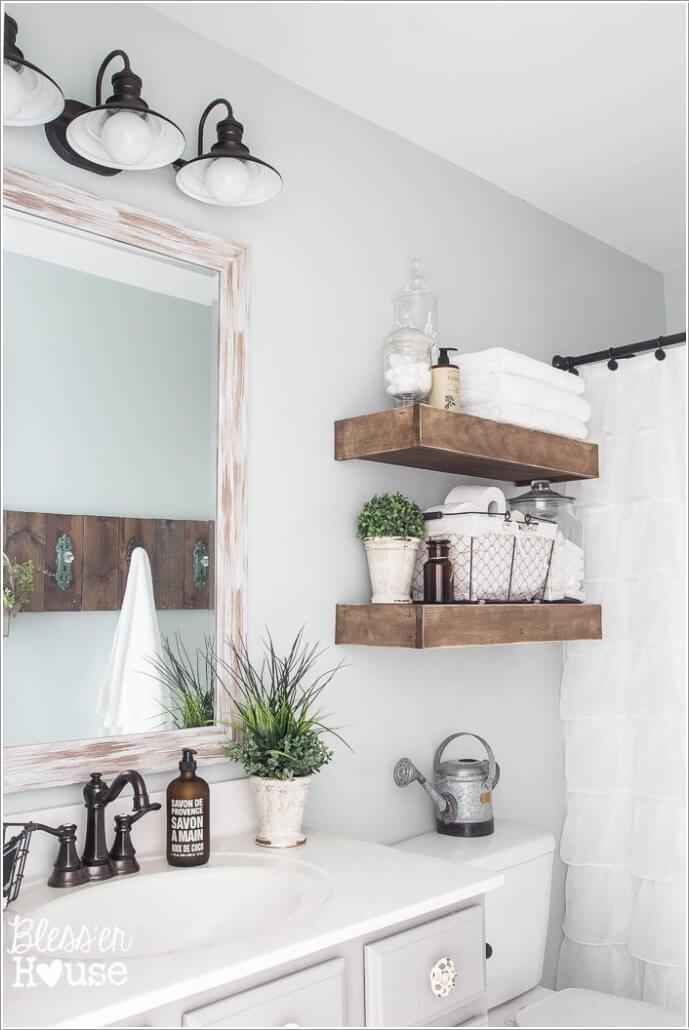 10 идей декора для ванной