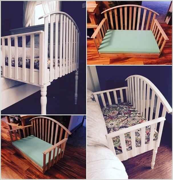 10 идей приставных кроваток для новорожденных