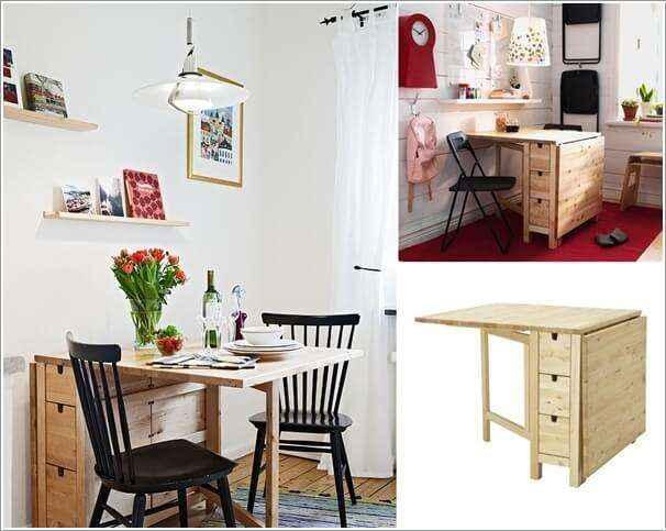 image4-45 | 10 идей обеденных столов для маленькой кухни