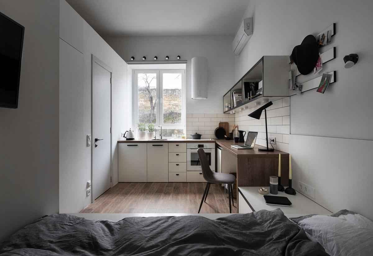 Дизайн квартиры площадью 18 квадратных метров