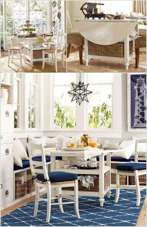 image6-46 | 10 идей обеденных столов для маленькой кухни