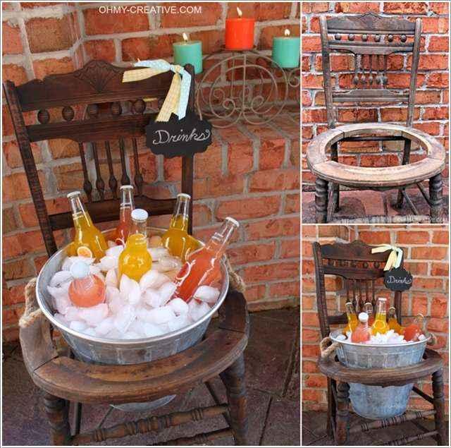 Что сделать из старых стульев: 15 оригинальных идей