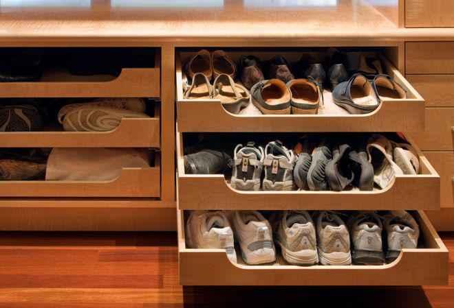 Как хранить обувь, необычные идеи