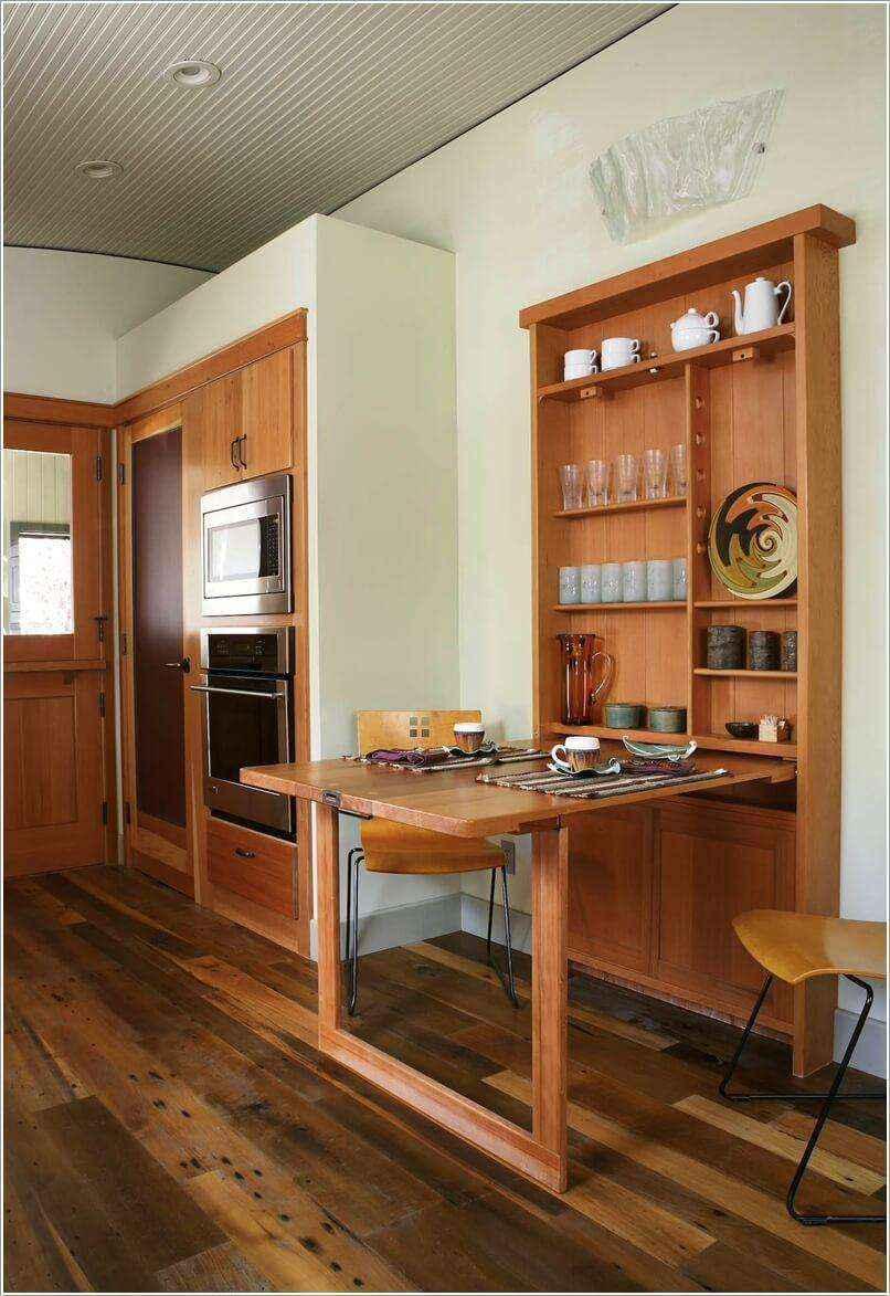 image8-43 | 10 идей обеденных столов для маленькой кухни