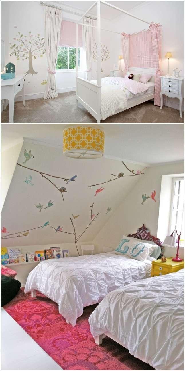 10 способов украсить белые стены
