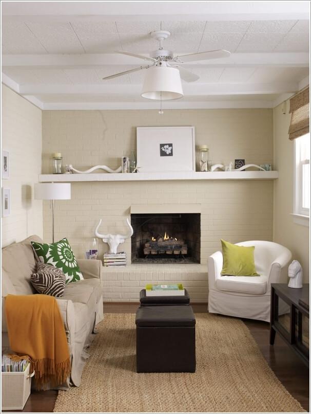 10 способов визуально увеличить маленькую гостиную