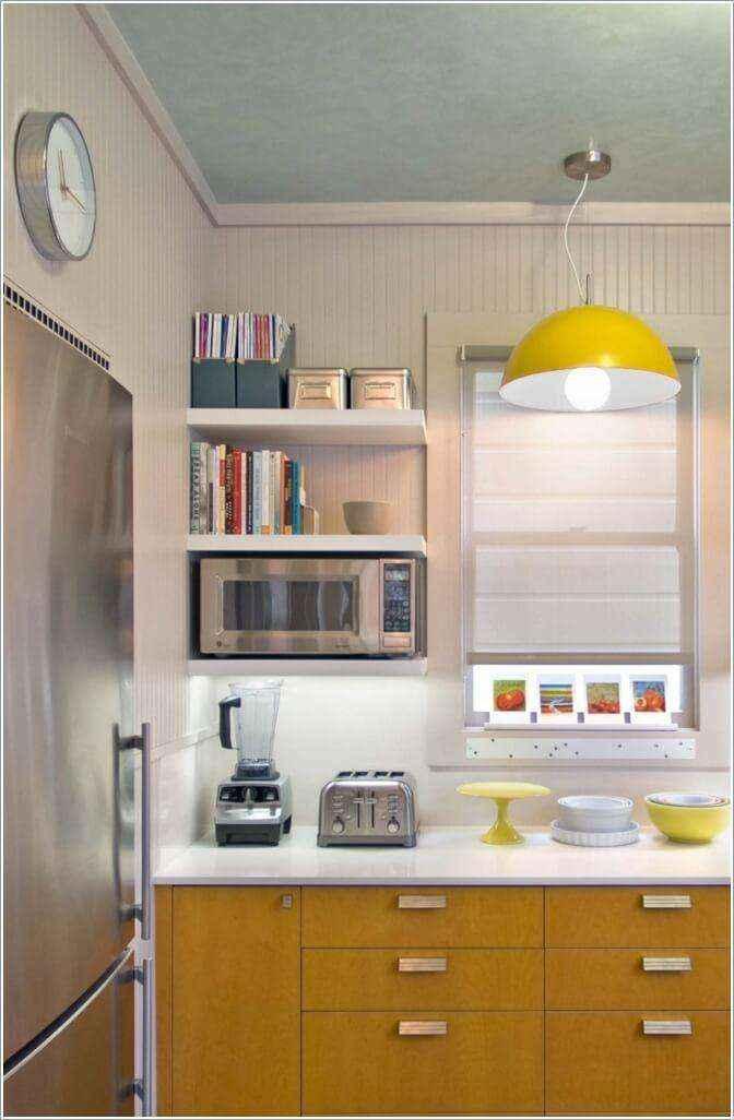 image9-38   10 способов зрительно расширить маленькую кухню