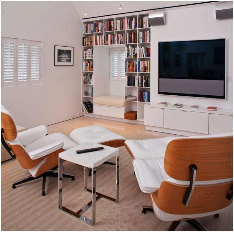 image9-54   13 оригинальных идей функциональных и удобных встроенных шкафов