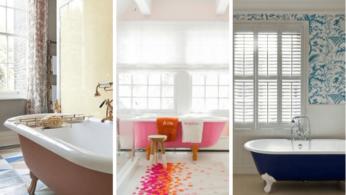 как обновить ванную при помощи краски