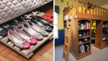 20 идей хранения под кроватью 2 | Дока-Мастер