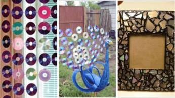 5 идей создания предметов декора из компакт-дисков 63 | Дока-Мастер