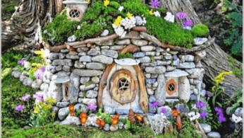 5 невероятных каменных художественных идей, чтобы оживить Ваш сад 92 | Дока-Мастер