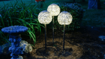 Как сделать необычные садовые фонари своими руками 75 | Дока-Мастер