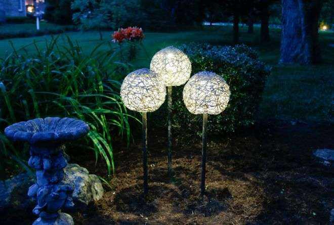 Как сделать необычные садовые фонари своими руками 1 | Дока-Мастер