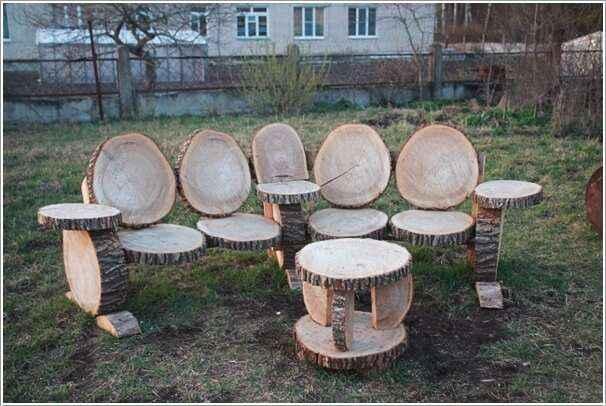 10 вариантов мебели из натурального дерева для дома и сада 1 | Дока-Мастер