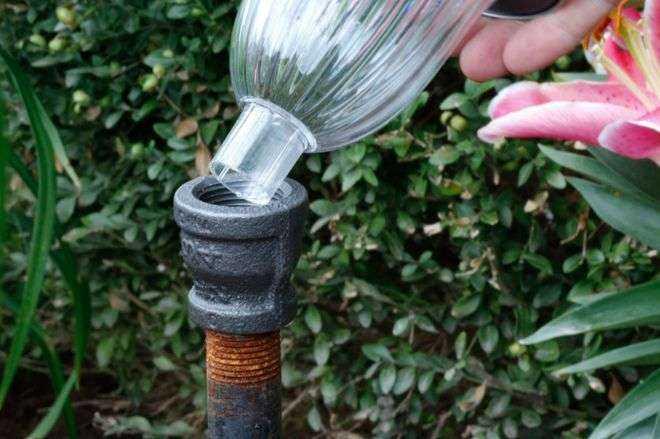 Как сделать необычные садовые фонари своими руками 10 | Дока-Мастер