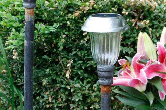 Как сделать необычные садовые фонари своими руками 11 | Дока-Мастер