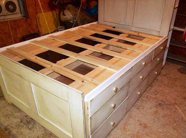 20 идей хранения под кроватью