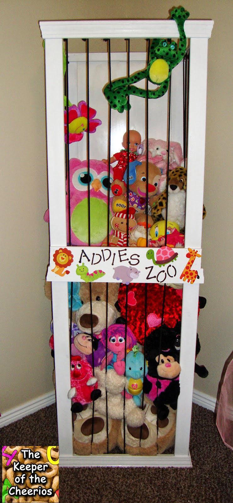 20 простых и доступных идей хранения игрушек
