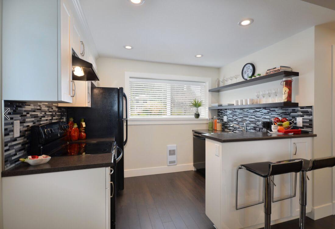 6 идей оформления контрастного кухонного фартука 2 | Дока-Мастер