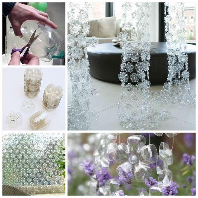 image2-58 | Потрясающие цветочные шторы из пластиковых бутылок