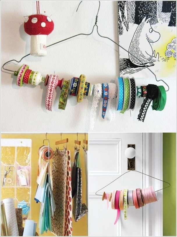 5 нестандартных способов использовать вешалку для одежды
