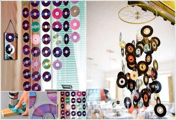5 идей создания предметов декора из компакт-дисков 2 | Дока-Мастер