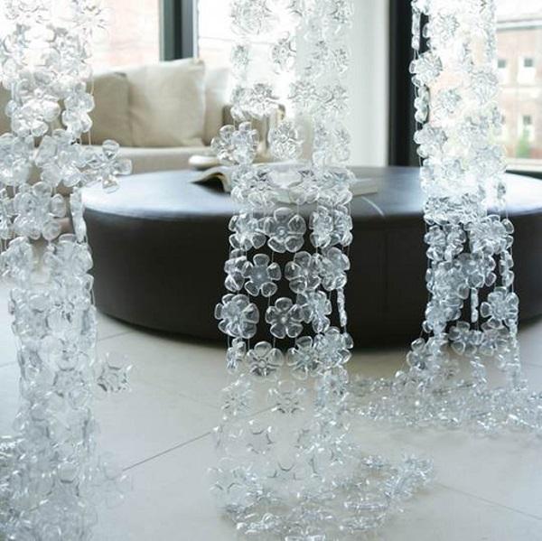 Необычный домашний декор из пластиковых бутылок 3   Дока-Мастер