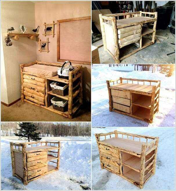 10 вариантов мебели из натурального дерева для дома и сада 2 | Дока-Мастер