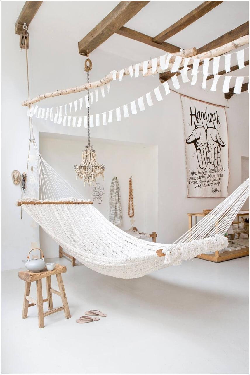 15 идей гамаков для вашего дома