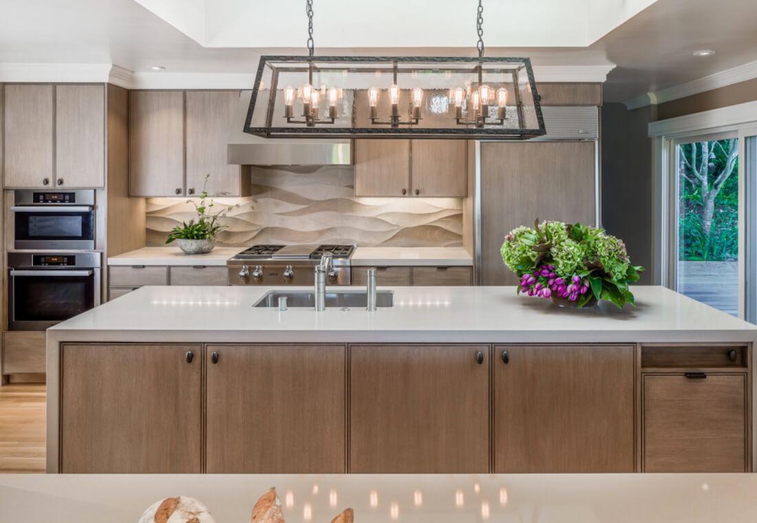 6 идей оформления контрастного кухонного фартука 3 | Дока-Мастер
