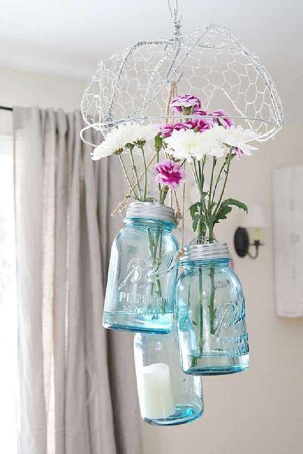 Что можно сделать из старых стеклянных банок