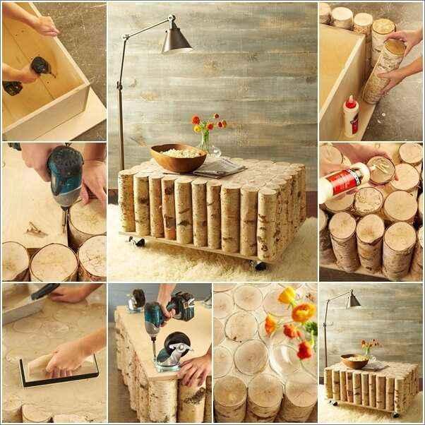 10 вариантов мебели из натурального дерева для дома и сада 3 | Дока-Мастер