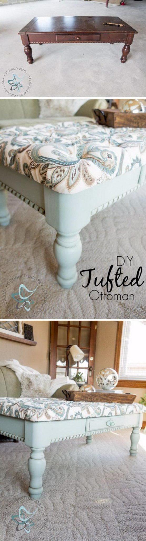 Удивительные идеи создания мебели из старья