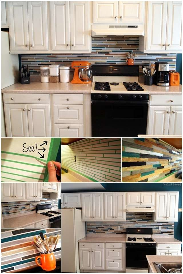 10 идей кухонного фартука