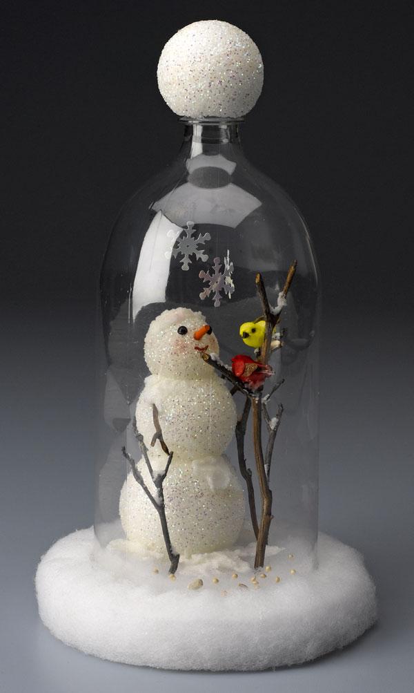 Необычный домашний декор из пластиковых бутылок 6   Дока-Мастер