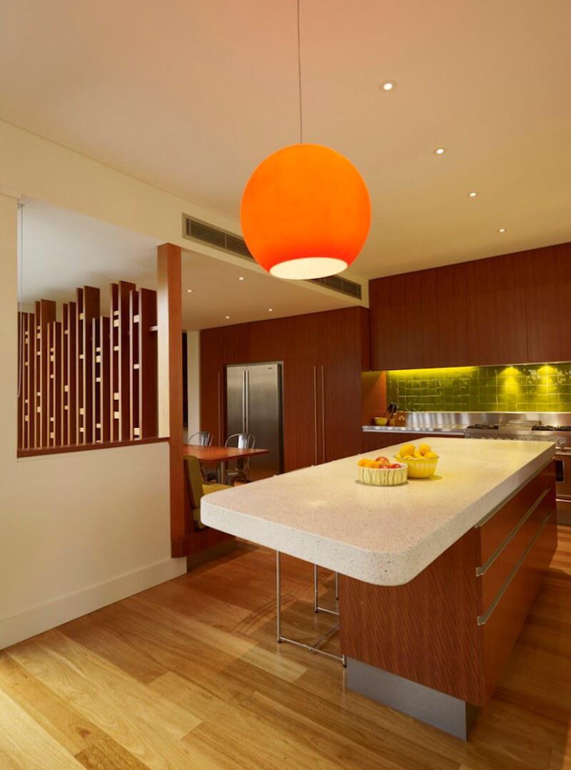 6 идей оформления контрастного кухонного фартука 6 | Дока-Мастер
