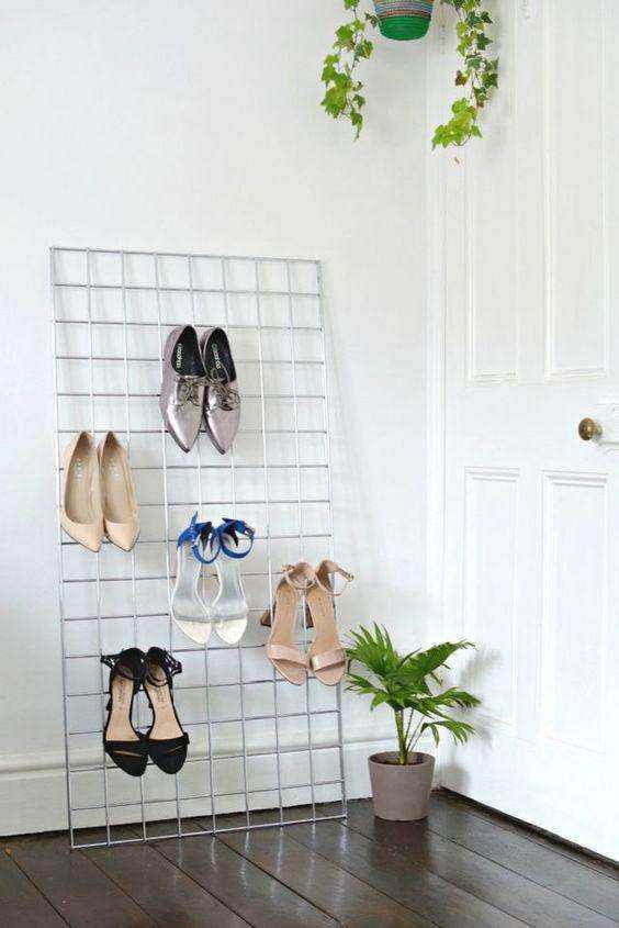 11 невероятных способов хранения обуви