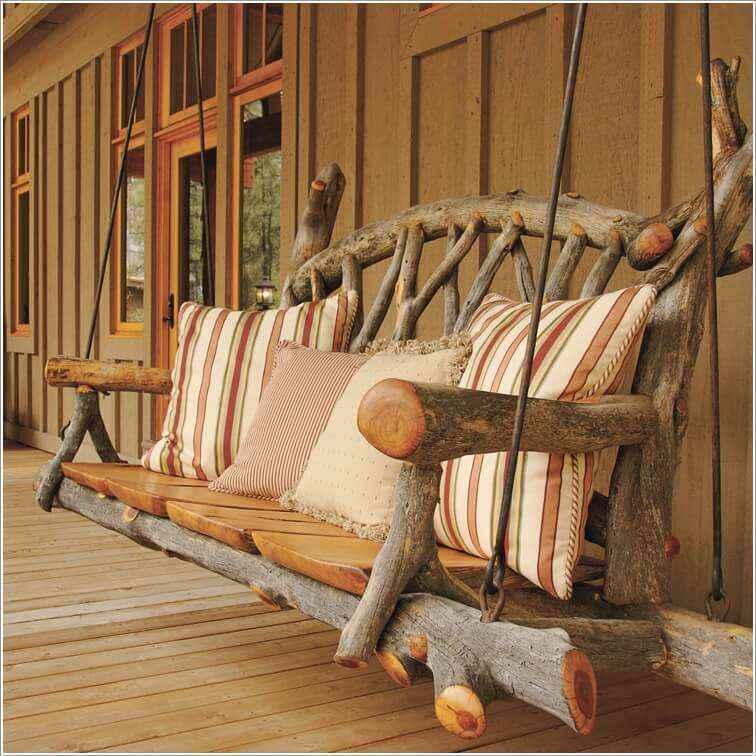 10 вариантов мебели из натурального дерева для дома и сада 7 | Дока-Мастер