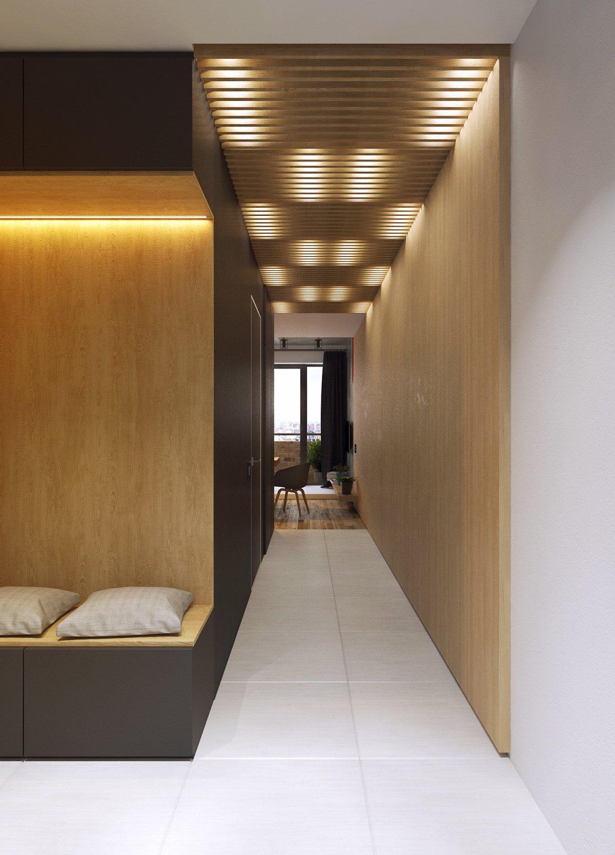 Дизайн интерьера небольшой квартиры для молодой пары
