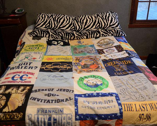 20 идей повторного использования футболок