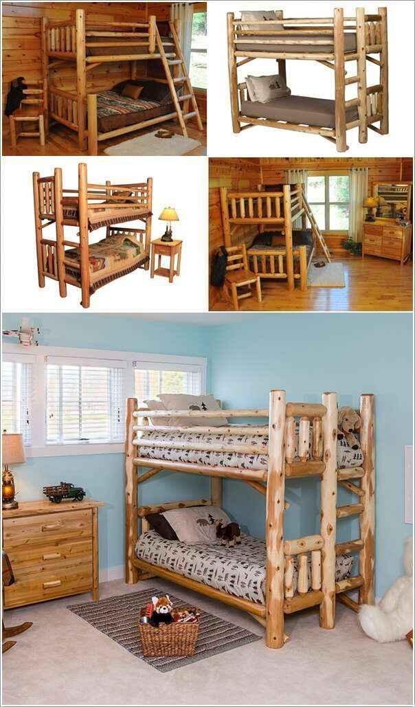 10 вариантов мебели из натурального дерева для дома и сада 8 | Дока-Мастер