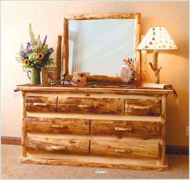 10 вариантов мебели из натурального дерева для дома и сада 9 | Дока-Мастер