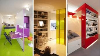 идеи дизайна маленьких квартир