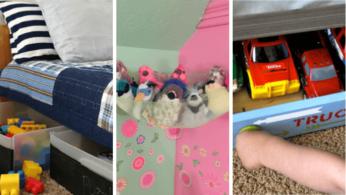 20 простых и доступных идей хранения игрушек 1   Дока-Мастер