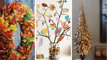 Поделки из осенних листьев 5 | Дока-Мастер