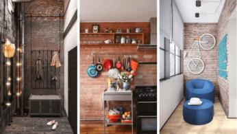 30 идей использования стен из кирпича в современном интерьере 144 | Дока-Мастер