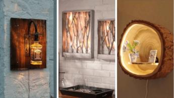 10 необычных настенных светильников 2 | Дока-Мастер