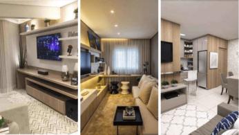 25 идей оформления маленьких гостиных 4 | Дока-Мастер