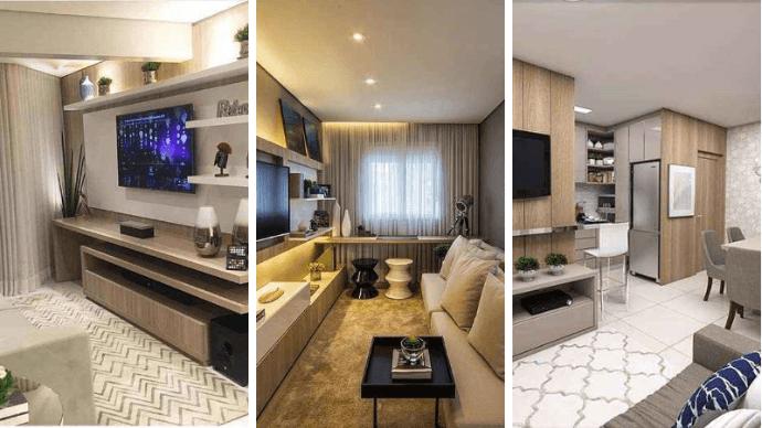 25 идей оформления маленьких гостиных 1 | Дока-Мастер